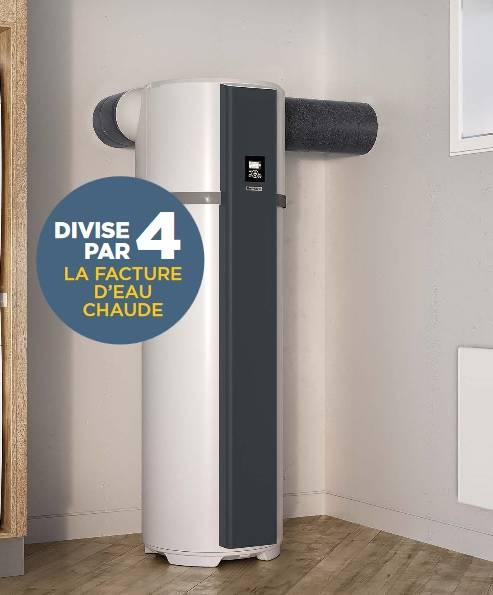 chauffe eau thermodynamique aeromax thermor vente de. Black Bedroom Furniture Sets. Home Design Ideas